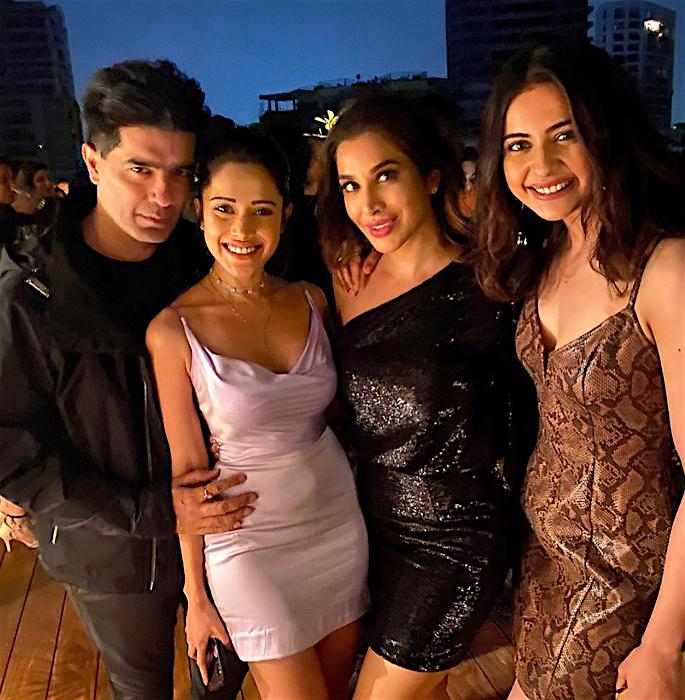 Bollywood Stars attend Sophie Choudry's Birthday Bash - rakul