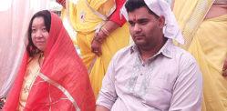 চাইনিজ মহিলা ভারতে ভ্রমণ করেছেন ভারতীয় প্রেমিকাকে বিয়ে করার জন্য