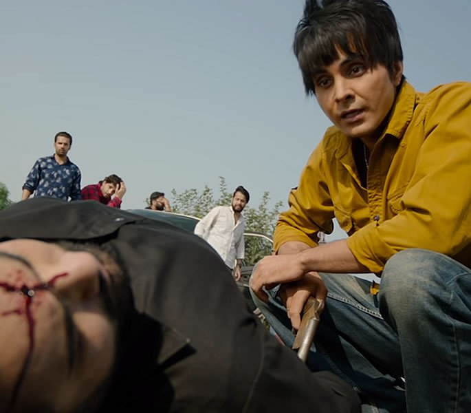 Gangster Punjabi Film 'Shooter' gets banned in Punjab - shot
