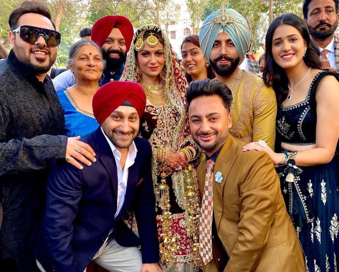Gurdas Maan's Son Gurikk marries Simran at Lush Ceremony - all2