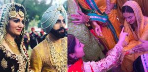 गुरदास मानचा मुलगा गुरिक यांनी सिमरनशी लग्न समारंभात लग्न केले