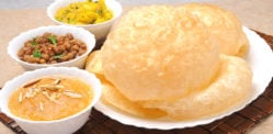 हलवा पुरी चोले: पारंपारिक भारतीय नाश्ता