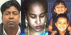 Husband jailed for Murdering Wife & Two Daughters