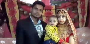 Indian Bride & Groom get Married with their 7-month-old Son f