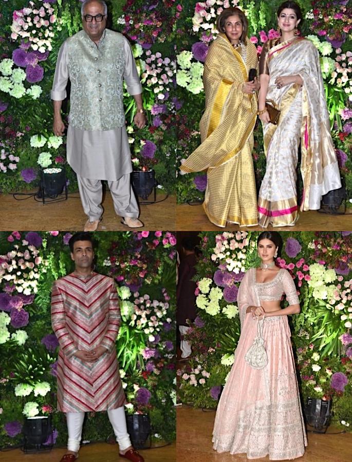 Kapoors turn Baraatis for cousin Armaan Jain's Wedding - guests