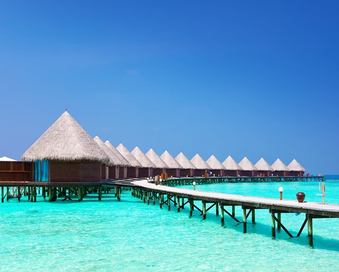 Most Popular Holiday Destinations for Indians - maldives