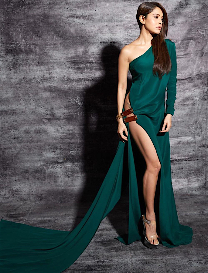 Nushrat Bharucha gets trolled for her Thigh-High Slit Dress - 1
