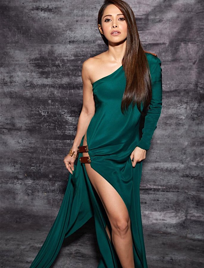 Nushrat Bharucha gets trolled for her Thigh-High Slit Dress - 2