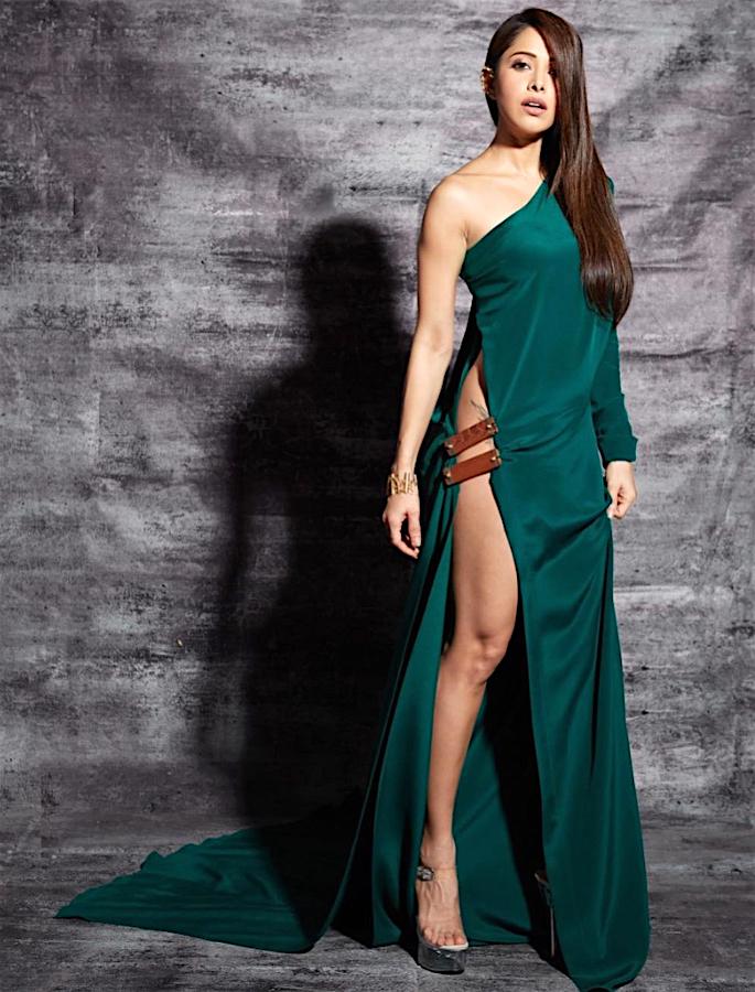 Nushrat Bharucha gets trolled for her Thigh-High Slit Dress - 3