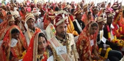 Over 3,350 Indian Couples marry at Mass Wedding