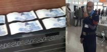 Pakistani Airport Official caught taking Bribe from British Citizen f
