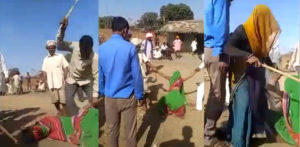 Parents beat Indian Daughter for Not Going to Husband f