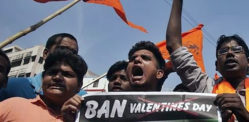 'Patriotism Lessons' for Indian Couples on Valentine's Day
