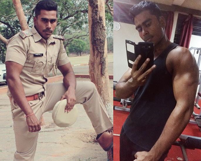 Policeman lost 41 kg inspired by Salman Khan's Dabanng - cop
