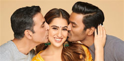 Sara Ali Khan to romance Akshay & Dhanush in 'Atrangi Re'