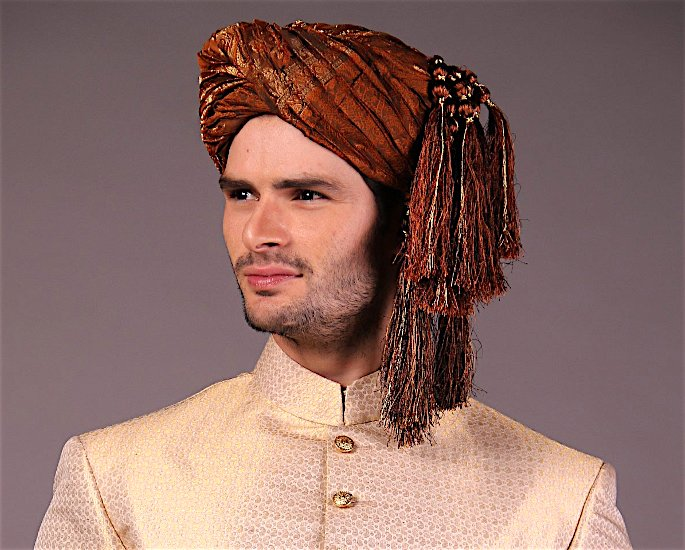 Ten Best Turban and Pagri Styles for the Groom - Jamawar2