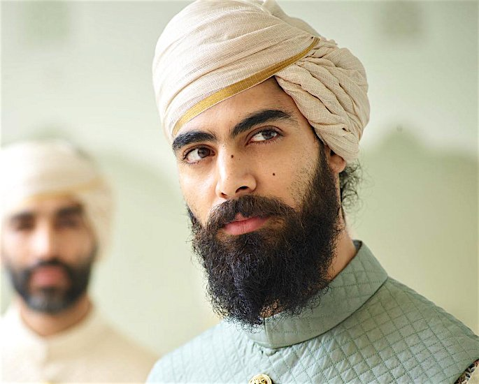 Ten Best Turban and Pagri Styles for the Groom - modern2