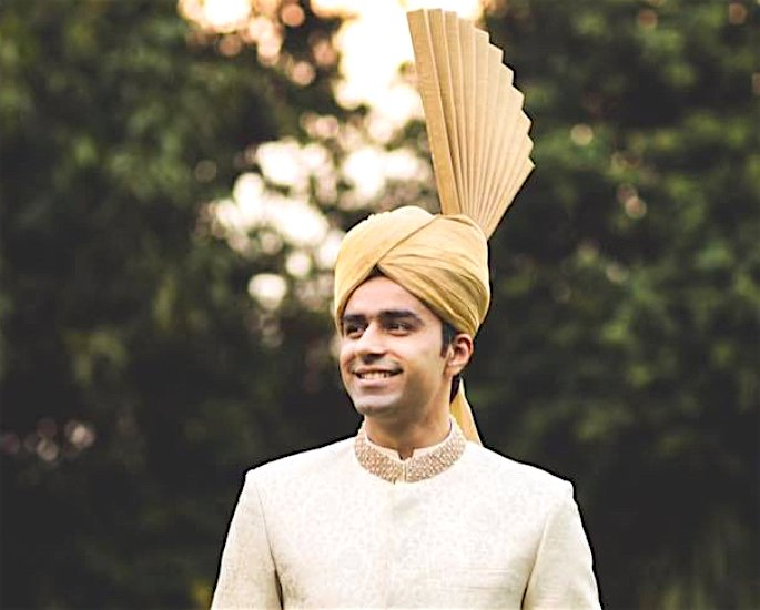 Ten Best Turban and Pagri Styles for the Groom - peshawari