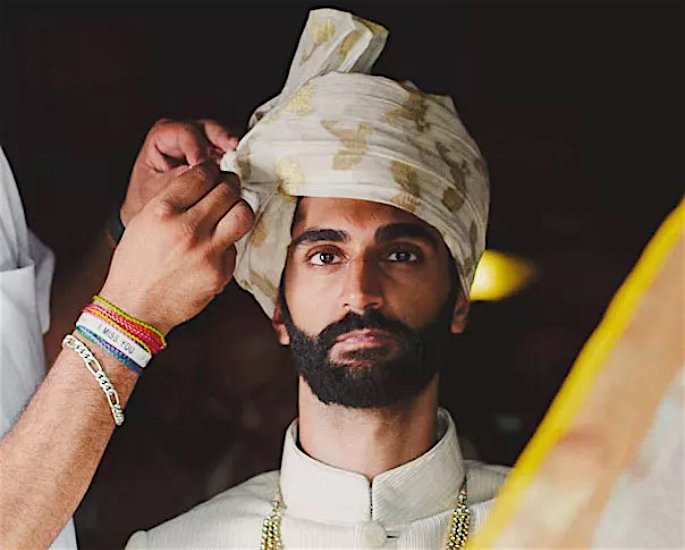 Ten Best Turban and Pagri Styles for the Groom - printed2