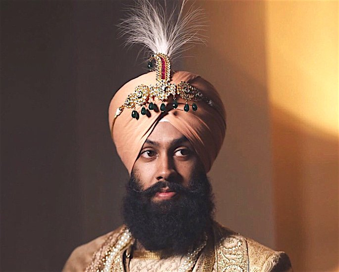Ten Best Turban and Pagri Styles for the Groom - traditional3