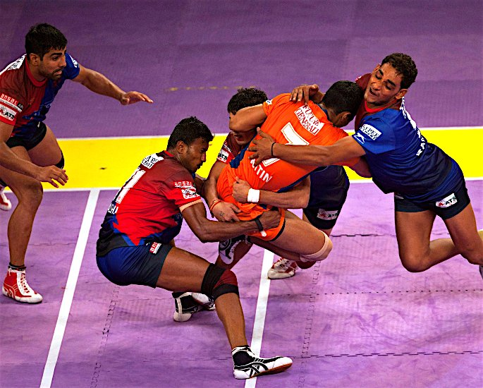 Ten Unusual and Weird Sports Played in India - kabaddi