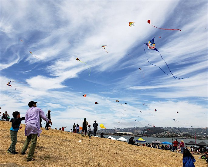 Ten Unusual and Weird Sports Played in India - kite flying