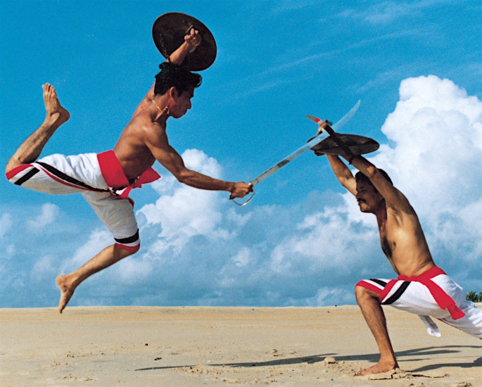 Ten Unusual and Weird Sports Played in India - swords