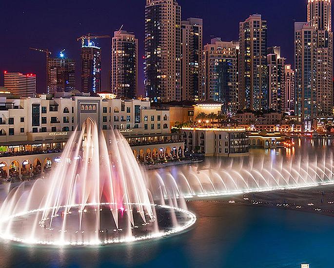 What to do when Taking a Trip to Dubai - fountain