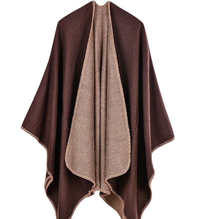 15 Best Shawls and Wraps to Warm Up your Style - cape
