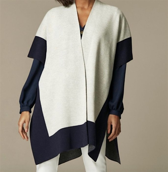 15 Best Shawls and Wraps to Warm Up your Style - modern wrap