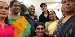 Akshay donates Rs 1.5 Crore to first Transgender Home in India f