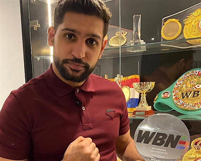 Amir Khan to Donate Rs 40m to Pakistan's COVID-19 Fund - win