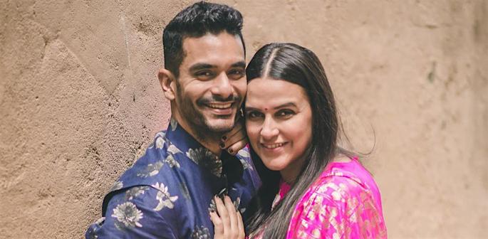 Neha Dhupia reveals she was dating when she got married f