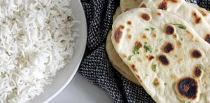 Are Rice and Naan compulsory for an Asian Dish f