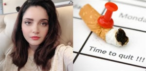 Armeena Khan urges People to Stop Smoking amid COVID-19 f
