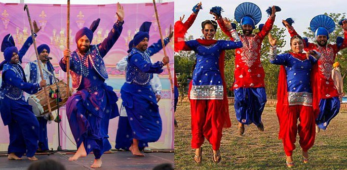 5 Traditional Bhangra Folk Dances   DESIblitz