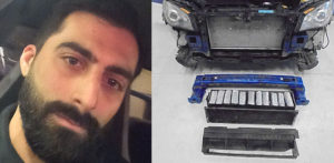 Car Dealer Caught with £1 million hidden in Car Bumpers f