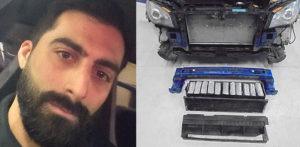 कार डीलर कार बंपर में छिपा हुआ £ 1 मिलियन के साथ पकड़ा गया