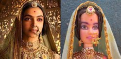 Deepika Padukone's Doll gets Reaction from Fans