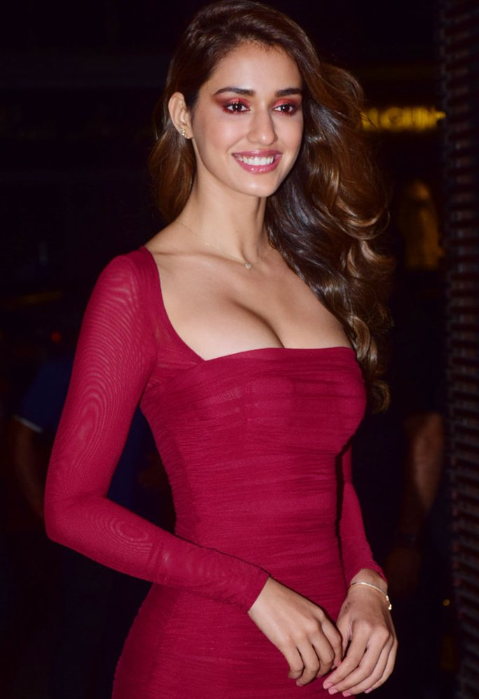 Disha Patani reveals 'Breathing was only Optional' in Red Dress - 2