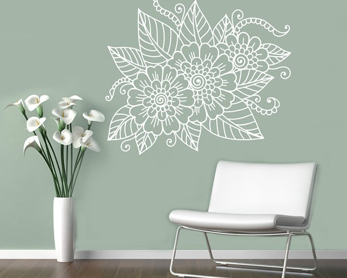 Elegant Home Decor Ideas from India - henna