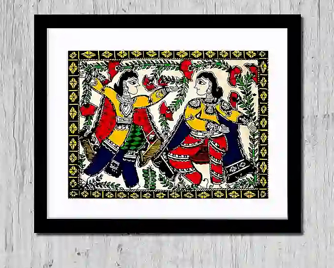 Elegant Home Decor Ideas from India - madhubani