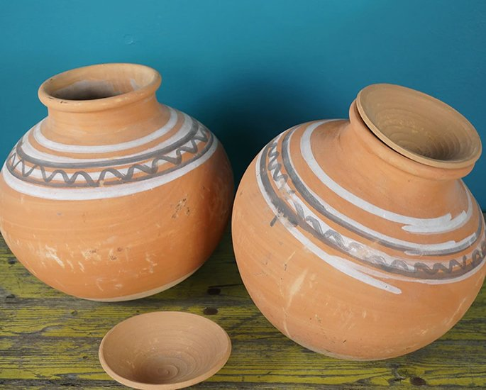 Elegant Home Ideas from India - terracotta
