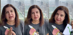 Farah Khan reacts Angrily at Celebrity Home Fitness Videos f