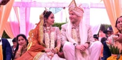 German Pilot marries Indian Air Hostess in Traditional Ceremony