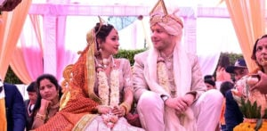 German Pilot marries Indian Air Hostess in Traditional Ceremony f