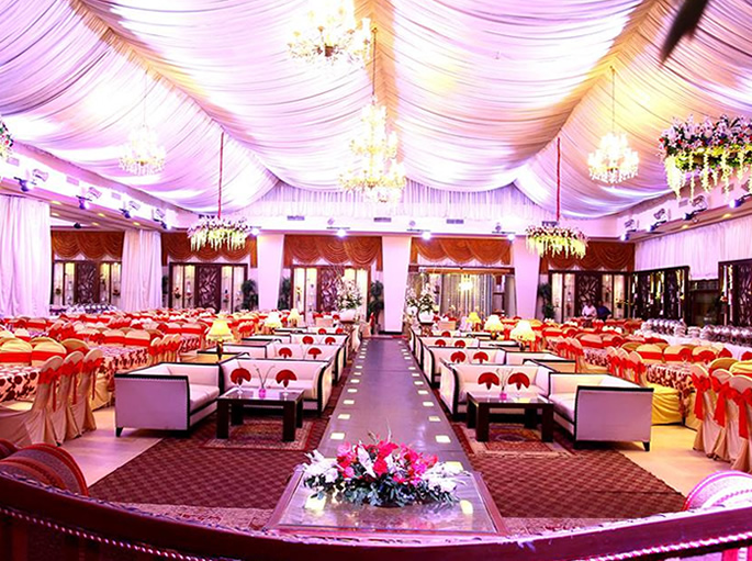 How Weddings in Pakistan are affected by Coronavirus - hall