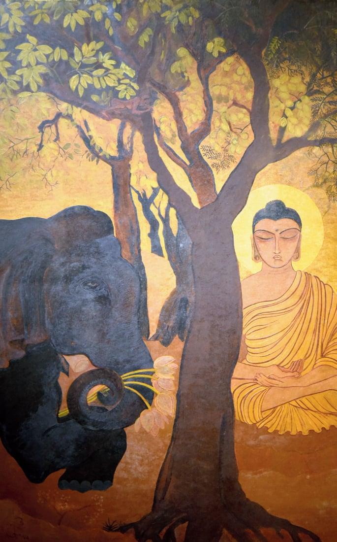 How the Bengal School of Art revolutionised India's Art Form - bhuddist