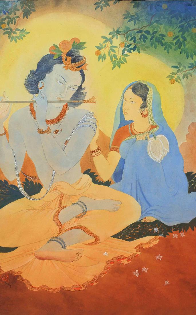 How the Bengal School of Art revolutionised India's Art Form - krishna