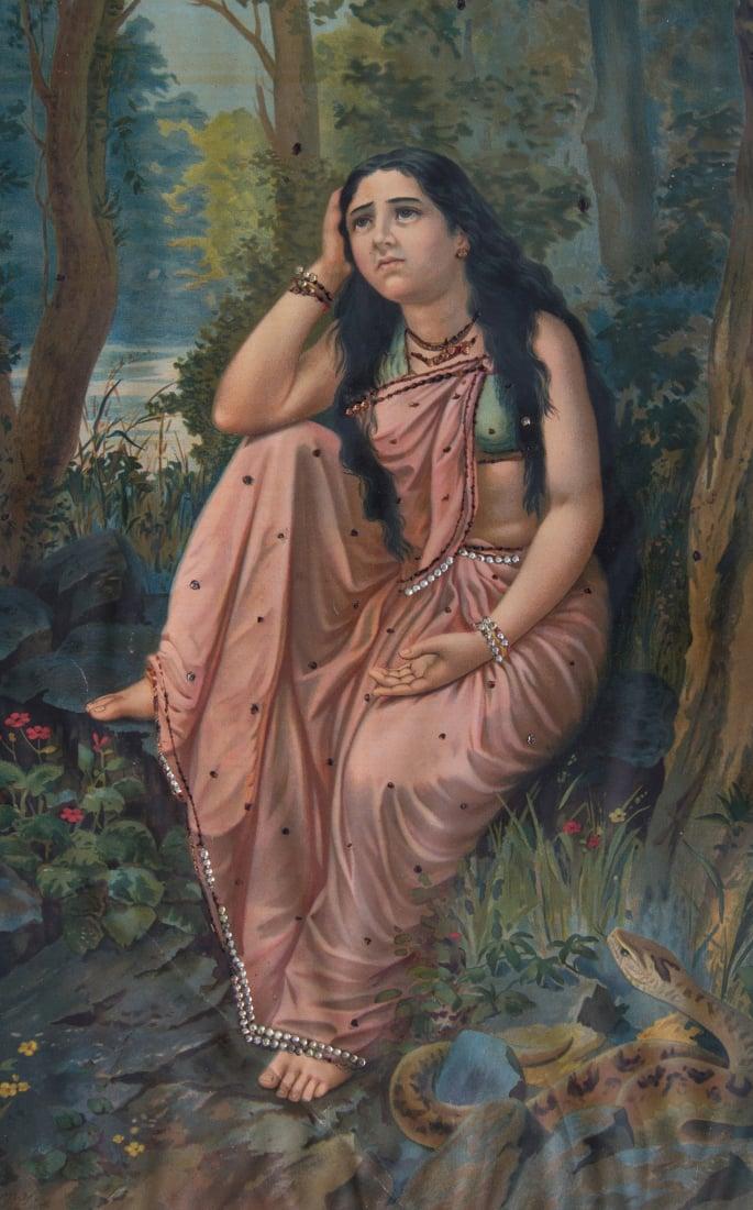 How the Bengal School of Art revolutionised India's Art Form - varma